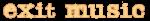 Exit Music logo