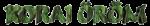 Korai Öröm logo